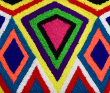 Arte wayuu Colombia