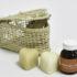regalo con jabones y aceites naturales