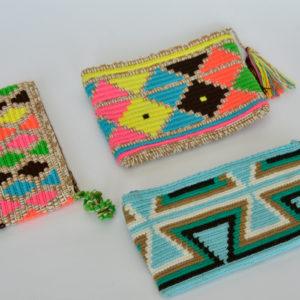 Sobres Cosmetiqueros Wayuu Cuadros Grandes Patrones Varios