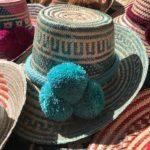 Sombrero Wayuu Color Aguamarina Barranquilla