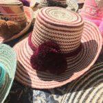 Sombrero Wayuu Vino Tinto