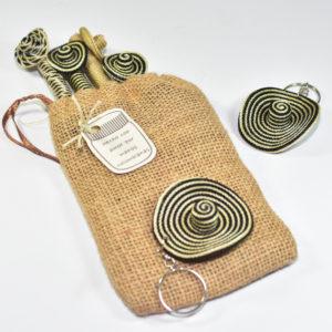 Llaveros Boligrafos de Sombreros Vueltiaos Miniatura en Bolsa