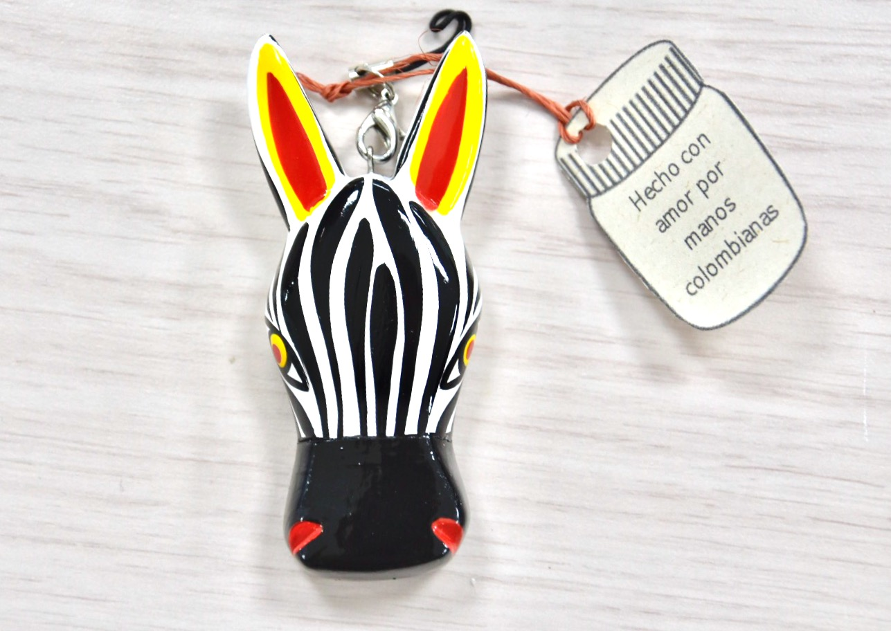 Memorias USB Animales Madera Zebra