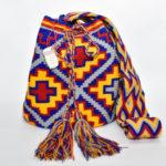 Mochila Wayuu Grande Colores Bandera Colombia
