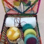 Jabones artesanales Caja en palma de iraca Bienestar Natural