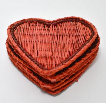 Portavasos de Corazón