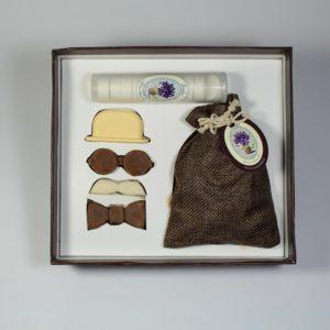 kit jabones hombre caja regalo