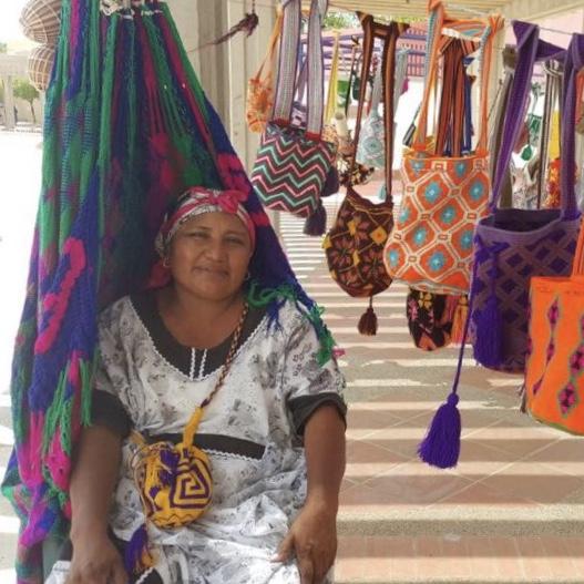 Artesana Mochilas Wayuu