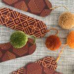 separadores de libro con borlas wayuu
