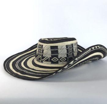 sombrero colombiano en caña flecha