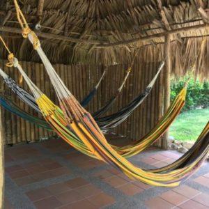 hamacas colombianas de colores