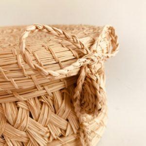 Costureros en palma de iraca tejidos