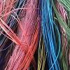Colores de la palma de iraca