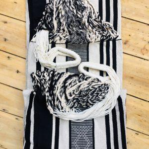 Hamaca blanco y negro de San Jacinto Colombia