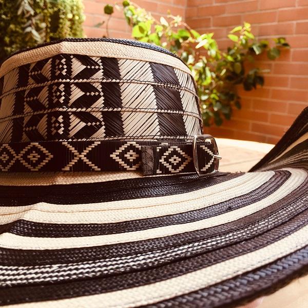Sombrero vueltiao tradicional colombiano