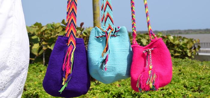 Mochilas Wayuu De Colores