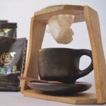 Set de Café Orgánico Molido y cuchara de madera
