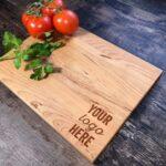 tablas de picar personalizadas en madera