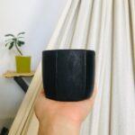 Pocillos En Ceramica Negra