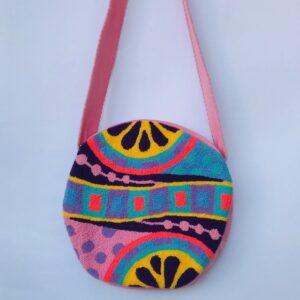 Bolsos Wayuu Tapizados Rosa
