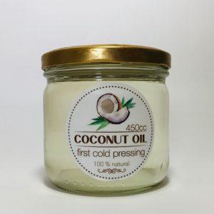 aceite de coco prensado en frio
