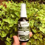 spray antibacterial natural